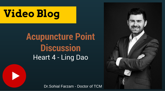 [Video] – Acupuncture Point Discussion, Heart 4 Ling Dao